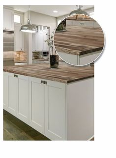 Luxury Kitchen 72 inch x inch x inch Acacia Wood Kitchen Countertop Unfinished Live Edge - Best Kitchen Designs, Modern Kitchen Design, Interior Design Kitchen, Vintage Kitchen Decor, Home Decor Kitchen, New Kitchen, Kitchen Themes, Kitchen Ideas, Kitchen Floor