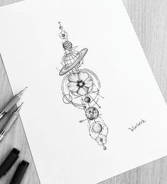 Kanji Tattoo Designs - First took place in China and then migrated to Japan. While the body art has progressed, the quantity of character types has increased to more than Tattoo Drawings, Body Art Tattoos, Small Tattoos, Tattoo Ink, Tattoo Moon, Medium Tattoos, Temp Tattoo, Planet Sketch, Planet Drawing