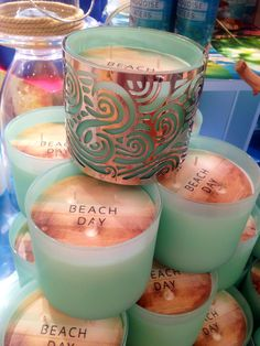 Bath and Body Works candles, summer 2014