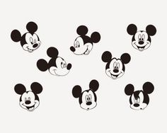 mickey mouse face - Поиск в Google