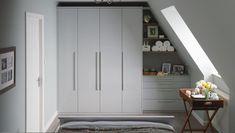 Attic Apartment, Attic Rooms, Attic Spaces, Loft Storage, Bedroom Storage, Storage Ideas, Smart Storage, Attic Renovation, Attic Remodel