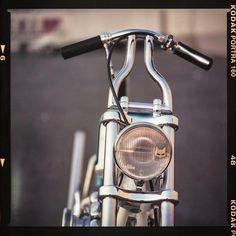 Chopper Parts, Bobber Chopper, Harley Handlebars, Old School Chopper, Chain Drive, Mopeds, Bobbers, Lifted Trucks, Kustom