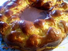 Pasca cu branza Romanian Food, Pastry And Bakery, Puddings, Recipies, Muffin, Easter, Sweets, Cooking, Breakfast