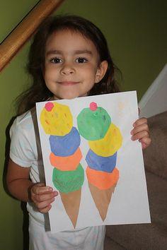 iCreate: Easy High Five Ice Cream Craft