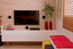 Decoração sala de estar como escolher o rack