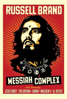 Russell Brand by Obey Giant