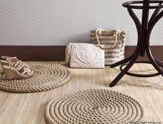 alfombras de cuerda