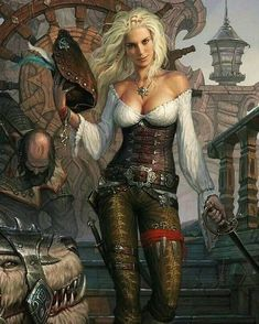 a collection of inspiration for settings, npcs, and pcs for my sci-fi and fantasy rpg games. hopefully you can find a little inspiration here, too. Fantasy Girl, Chica Fantasy, 3d Fantasy, Fantasy Kunst, Fantasy Warrior, Fantasy Women, Medieval Fantasy, Fantasy Artwork, Dark Fantasy