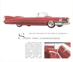 1959 Cadillac Sixty-Two Convertible
