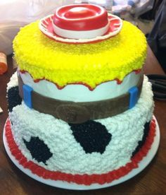 jessie toy story cake ideas no fondant - Google Search