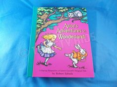Alices Adventures in Wonderland Pop-Up Book by Lewis Carroll Robert Sabuda 2003 in Books, Children & Young Adults | eBay