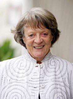 Maggie Smith from Downtown Abby is nominated for outstanding supporting actress this year Actors Then And Now, Queens, Drama, Maggie Smith, Love To Meet, Downton Abbey, The Incredibles, Actresses, Celebrities