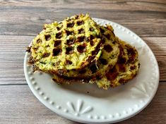 Zucchini Chicken Waffles Spicy Recipes, Low Carb Recipes, Garlic Mushroom Sauce, Chicken With Italian Seasoning, Batter Mix, Waffle Mix, Chicken And Waffles, Rotisserie Chicken, Kitchen Recipes