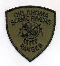 Oklahoma Scenic Rivers Ranger Subdued Patch