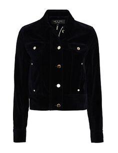 Rag & Bone Ziggy Velvet Jacket