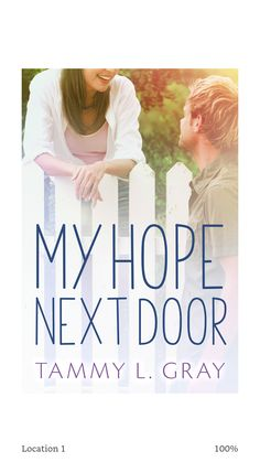 Reformed bad girl + wounded preacher's son + God's love = a great read! 4 Stars #myhopenextdoor by @tlgraybooks