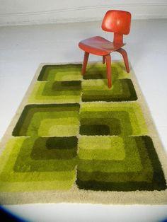 70s Home Decor, Vintage Home Decor, Vintage Rugs, Funky Rugs, Cool Rugs, Shag Carpet, Room Goals, Aesthetic Room Decor, Bedroom Carpet