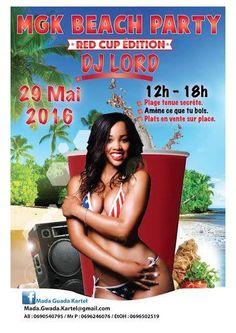 MGK BEACH PARTY Vous aussi intégrez vos événements dans l'Agenda des Sorties de www.bellemartinique.com C'est GRATUIT !  #martinique #concert #agenda #sortie #soiree #Antilles #domtom #outremer