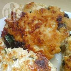 Goat's Cheese and Spinach Turkey Burgers @ allrecipes.co.uk