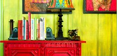 Decorating with Color: Bright Colors - Carla - Style - Eclectic Hall