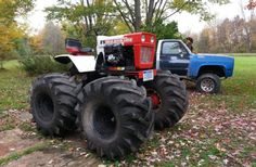 Lawn Tractor Custom Exhaust | Bolens 1250 to kubota power