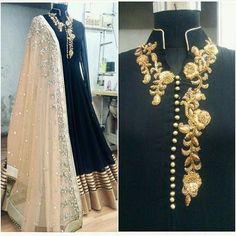 Nice Awesome Indian Bollywood Designer Anarkali Salwar Kameez Suit Pakistani Shalwar Dress U 2018 Black Anarkali, Anarkali Dress, Anarkali Suits, Red Lehenga, Pakistani Dresses, Indian Dresses, Indian Outfits, Long Anarkali, Bridal Lehenga