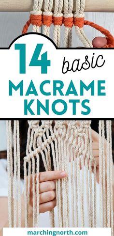 Macrame Plant Hanger Patterns, Free Macrame Patterns, Macrame Wall Hanging Patterns, Macrame Art, Macrame Design, Macrame Projects, How To Do Macrame, Macrame Jewelry, Macrame Tutorial