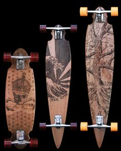 I love wood and long boards are awesome!