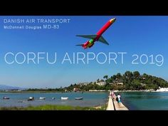 Spectacular Take off and Landings at Corfu Airport - Planespotting 2019 - YouTube Corfu Airport, Landing, Transportation, Greece, Aviation, Youtube, Greece Country, Youtubers, Youtube Movies