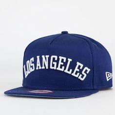NEW ERA Flipup Dodgers Mens Snapback Hat