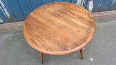 Very Rare 1950's Single Drop Leaf Small Coffee/Occasional Table by EraBrighton on Etsy https://www.etsy.com/listing/213989680/very-rare-1950s-single-drop-leaf-small
