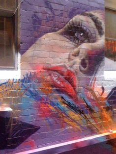 Matt Adnate Adnate is an Australian portrait painter who is using spray can and…