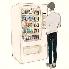 (수상한 자판기 Strange vending machine - 2/2) 간절히 바라면 결국 만나게 되어 있어