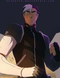 Shiro from Voltron Legendary Defender