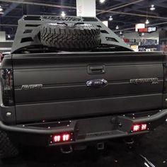 Ford Raptor black on black on black LOVE IT :) F150 Truck, Lifted Trucks, Cool Trucks, Pickup Trucks, Fords 150, Isuzu D Max, Toyota, Ford Raptor, Svt Raptor