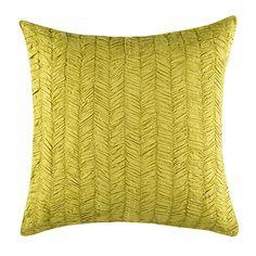 Eloise European Pillowcase  Green