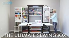 CURRENT PROJECTED PRODUCT SHIPMENT AVAILABILITY: EARLY 2017 Our newest product, The Ultimate SewingBox, is built with the seamstress in mind and the crafter ...