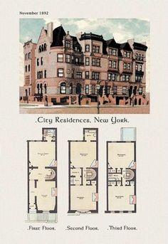 City Residences New York 12x18 Giclee on canvas