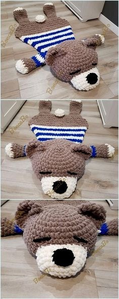 Most up-to-date Totally Free Crochet rug bear Concepts Top Crochet Ideas For Slippers, Boots And Socks Crochet Crafts, Crochet Yarn, Crochet Stitches, Crochet Projects, Crochet Patterns, Crochet Ideas, Blanket Crochet, Crochet Cardigan, Crochet Flowers