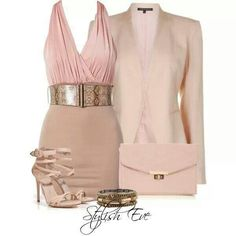 Dinner date? Everything but the clutch. The clutch is just overkill. Cute Date Outfits, Classy Outfits, Pretty Outfits, Pretty Clothes, Polyvore Outfits, Polyvore Fashion, Accessorize Fashion, Elegant Outfit, Work Attire