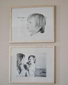 family photos for living room