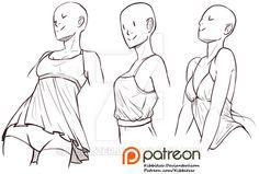 pose, clothing