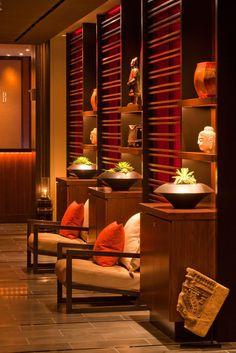Sho, Setai Restaurant Lobby design idea as seen on www.interiordesignpro.org