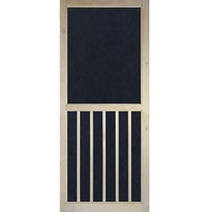 Screen Door Wood 5 Bar Stainable