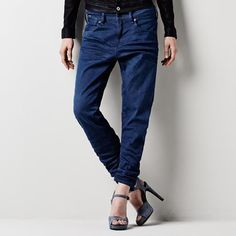 A-Crotch Loose Tapered Jeans Horse Riding Pants, Denim Jeans, Mom Jeans, Denim Branding, Tapered Jeans, G Star Raw, Must Haves, 3d, Collection