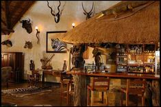 African Hunting Lodge