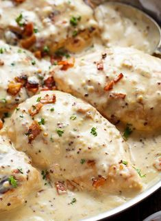 Creamy Honey Mustard Chicken With Crispy Bacon - Cafe Delites Low Carb Slow Cooker, Slow Cooker Recipes, Cooking Recipes, Healthy Recipes, Creamy Honey Mustard Chicken, Honey Mustard Recipes, Cafe Delites, Bacon Salad, Chicken Recipes