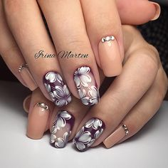 36 Amazing Prom Nails For Your Special Day Crazy Nail Designs, Nail Polish Designs, Beautiful Nail Designs, Beautiful Nail Art, Nail Art Designs, Lynn Nails, Acryl Nails, Uñas Fashion, Pretty Nail Art