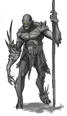 Infinity Blade 3: Mutant, Bert Lewis on ArtStation at https://www.artstation.com/artwork/5e3oW