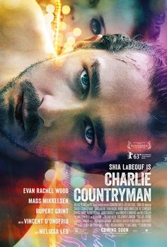 The Necessary Death of Charlie Countryman Poster. Colorful. Coming Soon. Movie. Man. Model. 90 degree. Acting. Illustration. Blurry. Transparent. Lights. Action. Design. Cool.